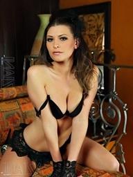 Victoria Lawson shows off her hot underware..