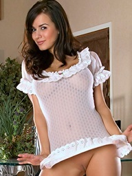Foxes.com: Diana LaDonna - Wan See Thru Underware Cover Nice Bowels