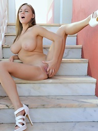 Staircase To Heaven.. featuring Viola   Twistys.com